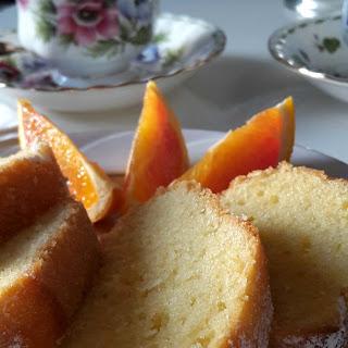 Orange Ginger Yogurt Bundt Cake Recipe