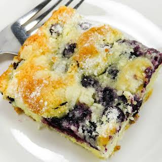 Blueberry Butter Cake!.