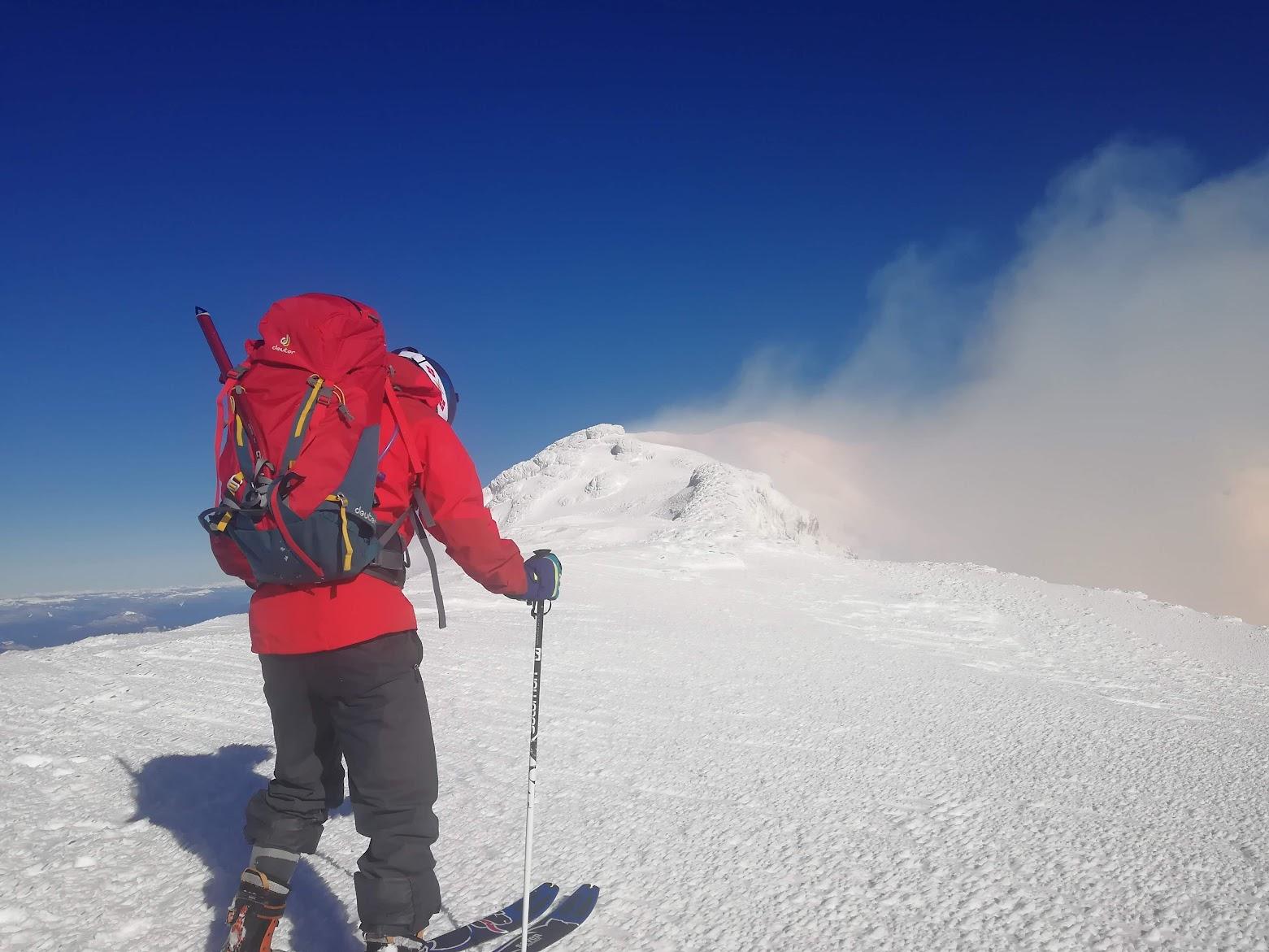 [Foto:Gipfel von Villarica]