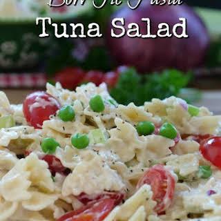 Bow Tie Pasta Tuna Salad.