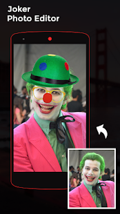 Joker Face Photo Editor - náhled