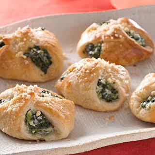 Cheesy Spinach Bundles.