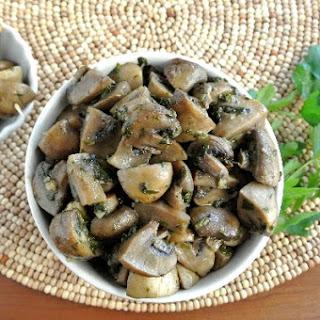 Slow Cooker Mushrooms