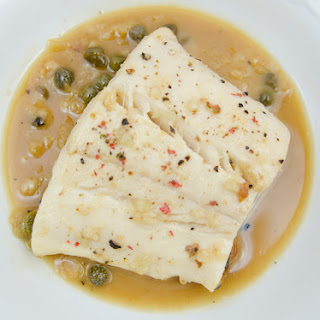 Halibut with Lemon Butter Sauce Recipe