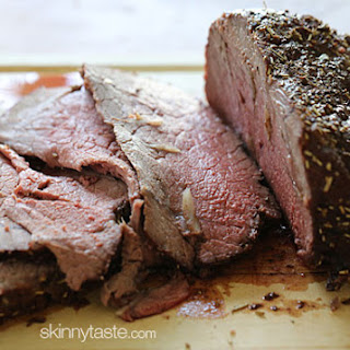 Garlic Lover's Roast Beef