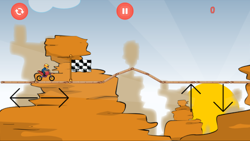 Desert Motocross - racing game