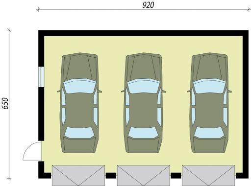 G5a - Rzut garażu