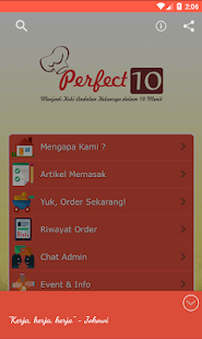 Perfect 10 Cooking for PC-Windows 7,8,10 and Mac apk screenshot 1