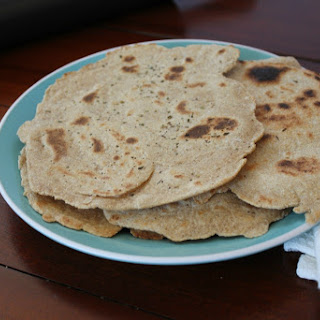 Easy Whole Wheat Flatbread (4 Ingredients!)