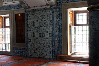 Photo: Day 115 - Side Gallery  in The Rustem Pasa Mosque