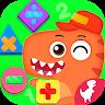 Dino School Kids Math Games +-x÷ Brain Games apk baixar