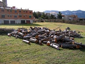 Photo: AMOTOnamiento 2007 LA LEÑA: Ni más ni menos que 5 tractoradas, más un par de 'tarugos' que sobraron del año pasado, es lo que de momento hay preparado.