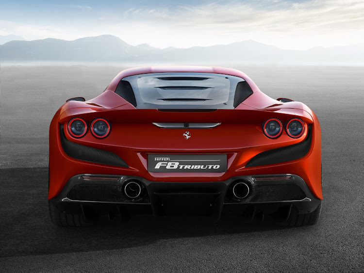With 530kW the Ferrari F8 Tributo is the most powerful V8 Ferrari yet built. Picture: SUPPLIED