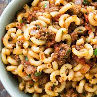 Hamburger and Macaroni Recipe