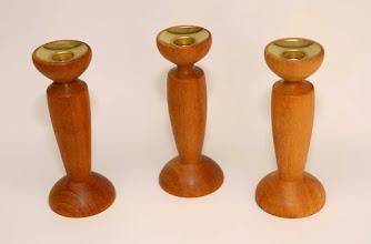 Photo: h 16 cm b 7 cm billinga hout 70 euro per set