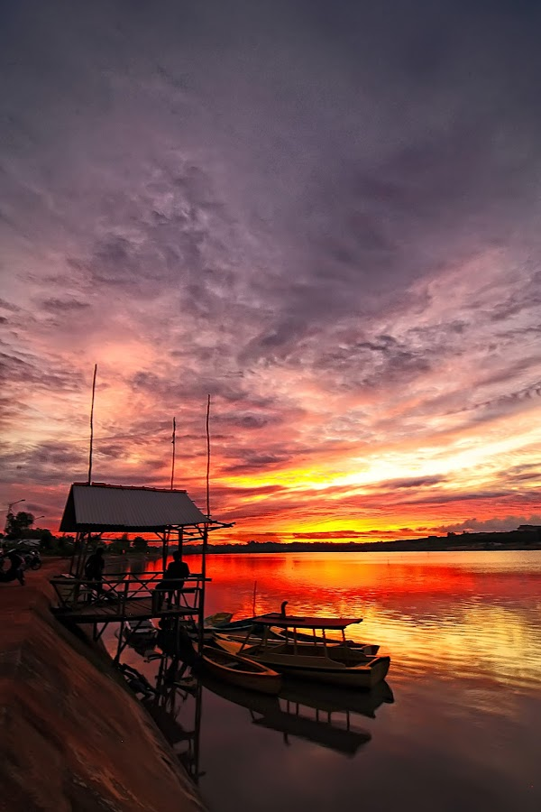 Waiting Sunset by Taufiq Hidayat - Landscapes Sunsets & Sunrises
