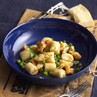 Gnocchi with Shrimp and Peas