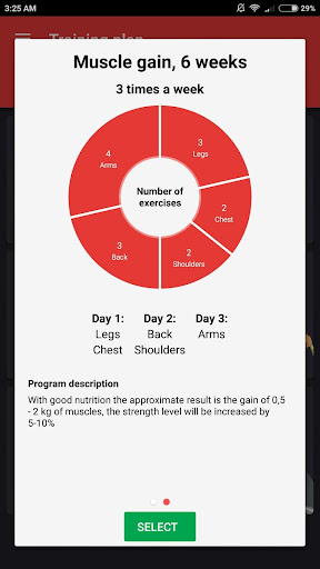SmartFit - Gym Personal Trainer, Strength training  screenshots 2