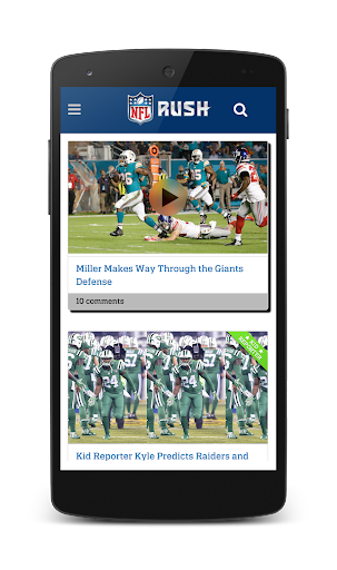 NFL RUSH Screenshot