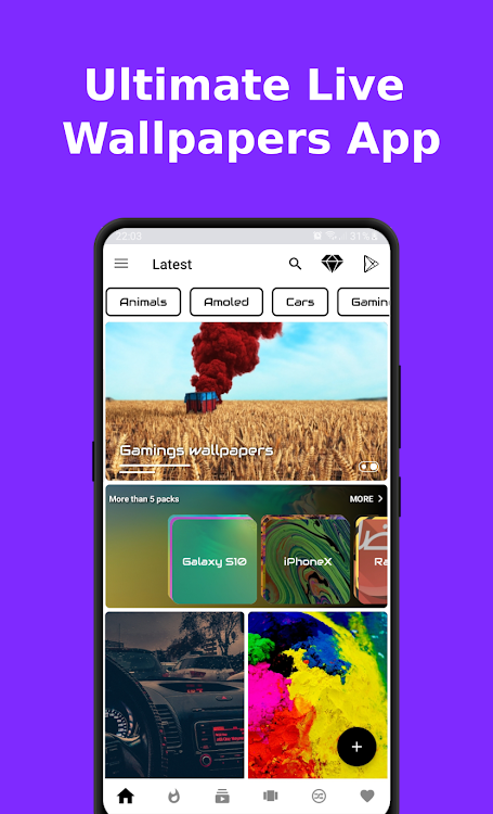 Ultimate Live Wallpapers App Gifvideoimage Android