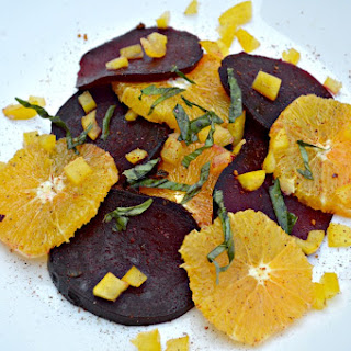 Roasted Beet and Citrus Salad.