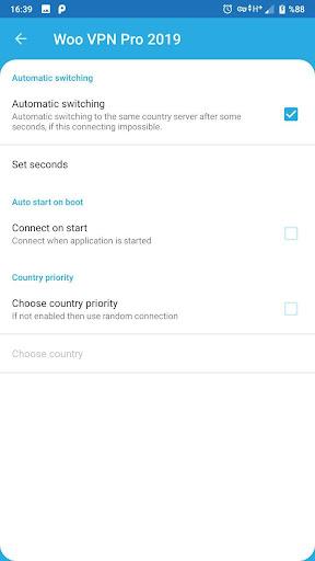 Woo VPN Pro Free 2019 screenshot 16