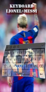new theme keyboard for L.messi - náhled
