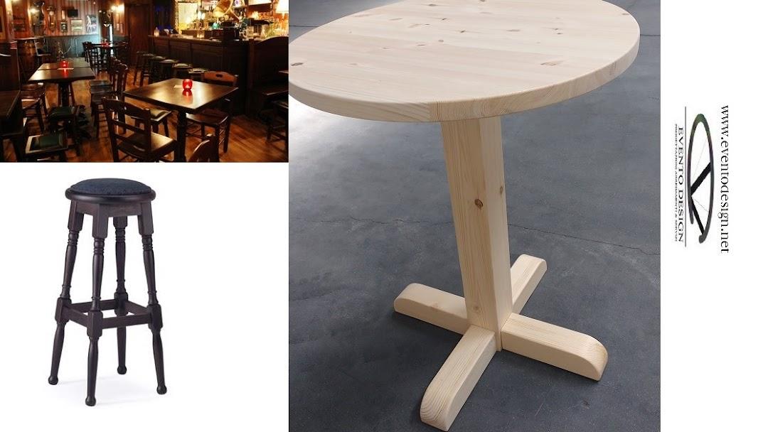 Eventodesign sedie sgabelli panche divanetti arredi per bar