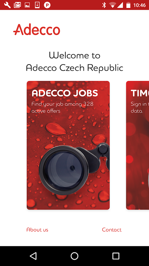 Adecco Czech Republic- screenshot