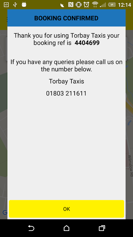Torbay Taxis- screenshot