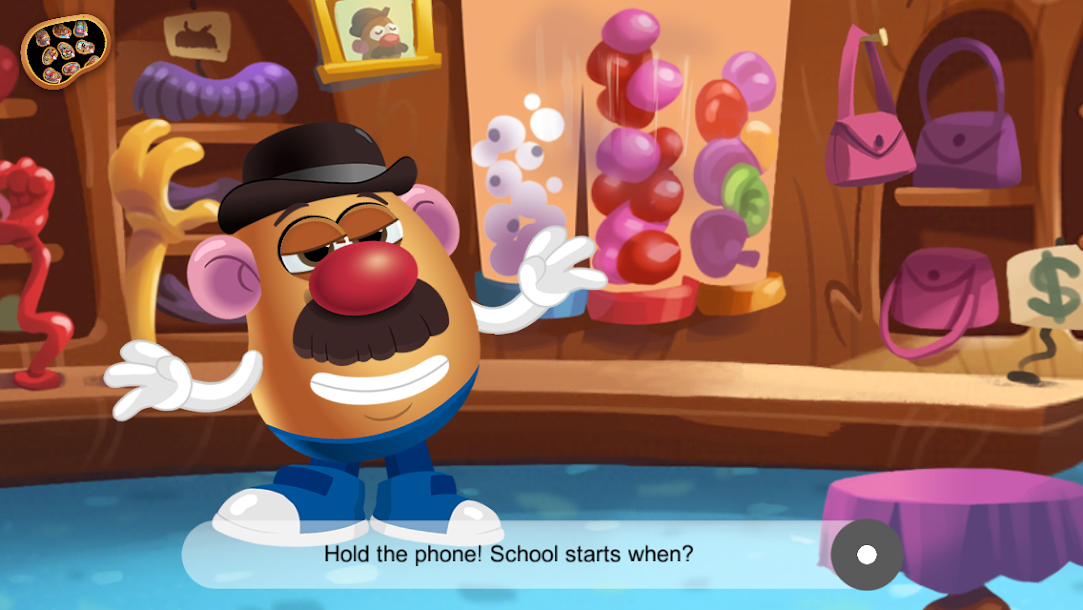 Mr. Potato Head School Rush App - Interactive Storybook App for Kids