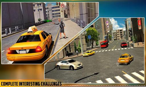 hq taxi driving 3d screenshot 3