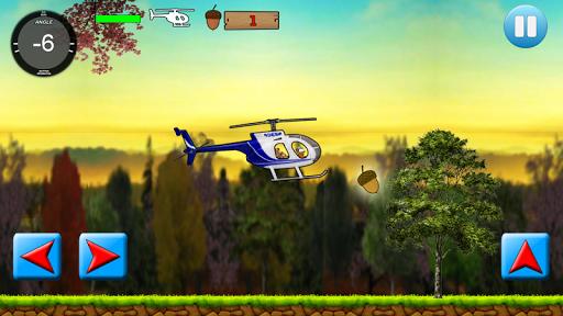 あかぎれのできた ヘリコプターのパイロット
