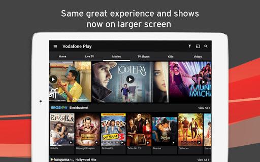 Vodafone Play Live TV Movies TV Shows News 1.0.45 screenshots 6