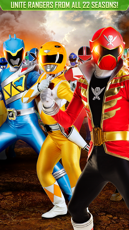 Power Rangers: UNITE- screenshot