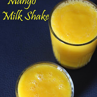 Mango Milkshake Recipe, How To Make Mango Milkshake | Mango Recipes