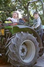 Photo: Anch'io voglio guidare il trattore
