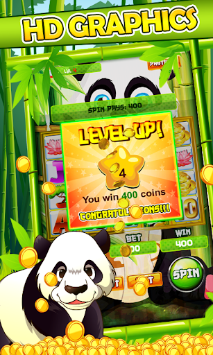 Slot Machine: Panda Slots 2.1 screenshots 3