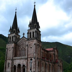 Covadonga by Lidia Noemi - Buildings & Architecture Places of Worship ( religion, hdr, covadonga, iglesia, asturias,  )