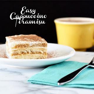 Easy Cappuccino Tiramisu