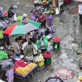 Mumbai Fruit Market by Rushi Chitre - Food & Drink Fruits & Vegetables
