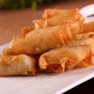 Fried Vegetarian Spring Rolls (Cha Gio Chay)