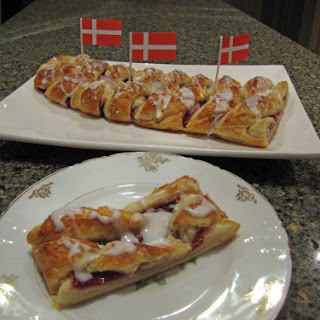 Wienerbrød – Danish Pastry Braid