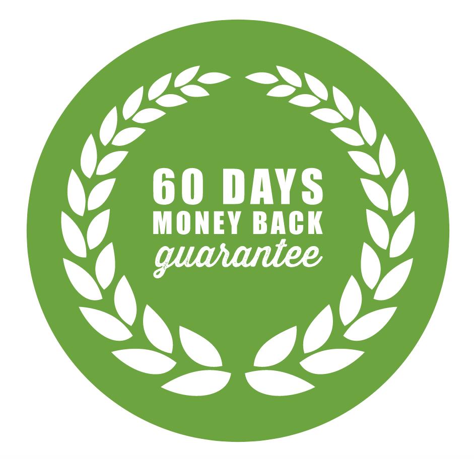 60 Day Money Back Guarantee