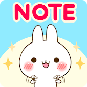 Namaiki-rabbit Sticky Notes