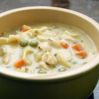 Creamy Semi-Homemade Chicken Noodle Soup.