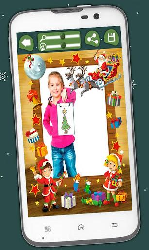 玩免費娛樂APP|下載子供のためのクリスマスフレーム app不用錢|硬是要APP