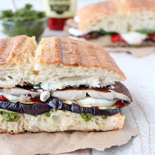 Grilled Vegetable Italian Panini