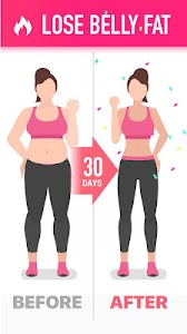 Lose Belly Fat in 30 Days - Flat Stomach 1.0.8