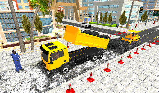 Real City Road Construction 3D filehippodl screenshot 5